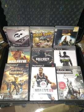 Venta de video juegos de PlayStation 2 y 3