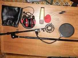 Combo micro c1 usb piaña y audifonos