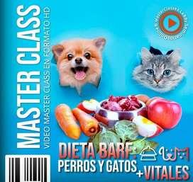 DIETA BARF: PERROS Y GATOS + VITALES