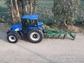 se vende TRACTOR AGRICOLA NEW HOLLAND, MODELO T5070 MADE IN ITALIA ,AÑO 2016 ,CABINADO  AÑO 2016