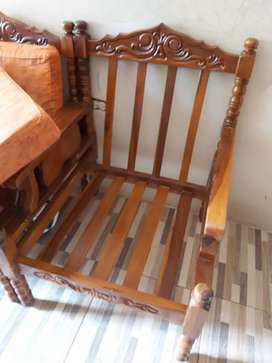 Muebles clasicos de guayacan