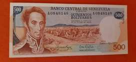 Billete de 500 bolívares 1972