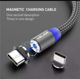 Cable Magnetico cargador iPhone V8