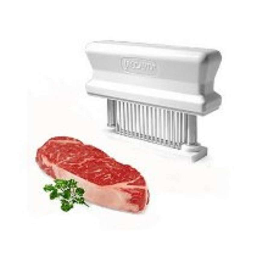 Ablandador de carne manual 48 cuchillas en acero 0
