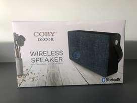 Parlante Bluetooth Inalámbrico Nuevo Coby Décor Altavoz