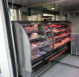 Nevera con division, moderna para carne y congelados