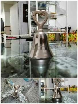 Campanita pequeña 10cm en plata