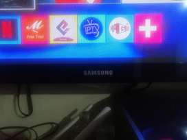 Se vende TV plasma sansung de 42 ' con TV box