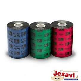 Ribbon Cera, Resina O Mixto para Impresora Zebra