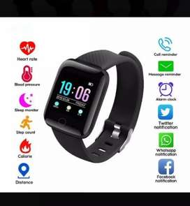 Relojes smartwatch inteligentes monitor de ritmo cardíaco