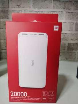 Xiaomi Redmi Power Bank 20000mAh.