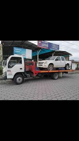 Vendo Camion/plataforma autocargable Chevrolet NQR