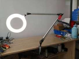 Lampara De Mesa Escritorio Eliptica Led + Pinza 7w 3k/4k/5k