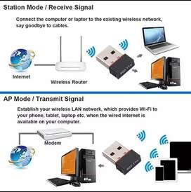 Adaptor wifi mini usb