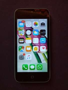 iPhone 5c 32gb con cable y cargador