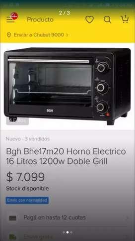 Microondas y horno grill