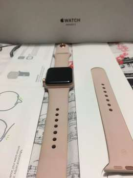 Apple iwatch serie 3 rose gold