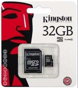 MEMORIAS 32 GB NUEVOS GARANTIA SUPER OFERTAZOO!!
