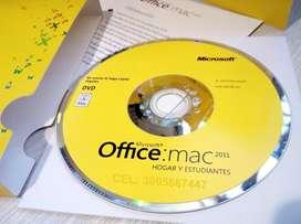 Office para mac hogar y estudiantes 2011 En Caja Original