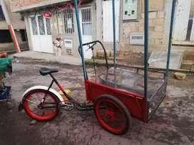 Triciclo para  negocio