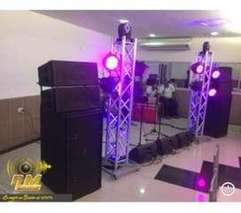 Alquiler de Sonido y luces Profesionales