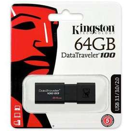 MEMORIA USB 64GB KINGSTON 69.900