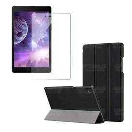 Kit Vidrio Cristal Templado Y Estuche Case Protector para Tablet Samsung Galaxy Tab A8.0 2019 SM-T295