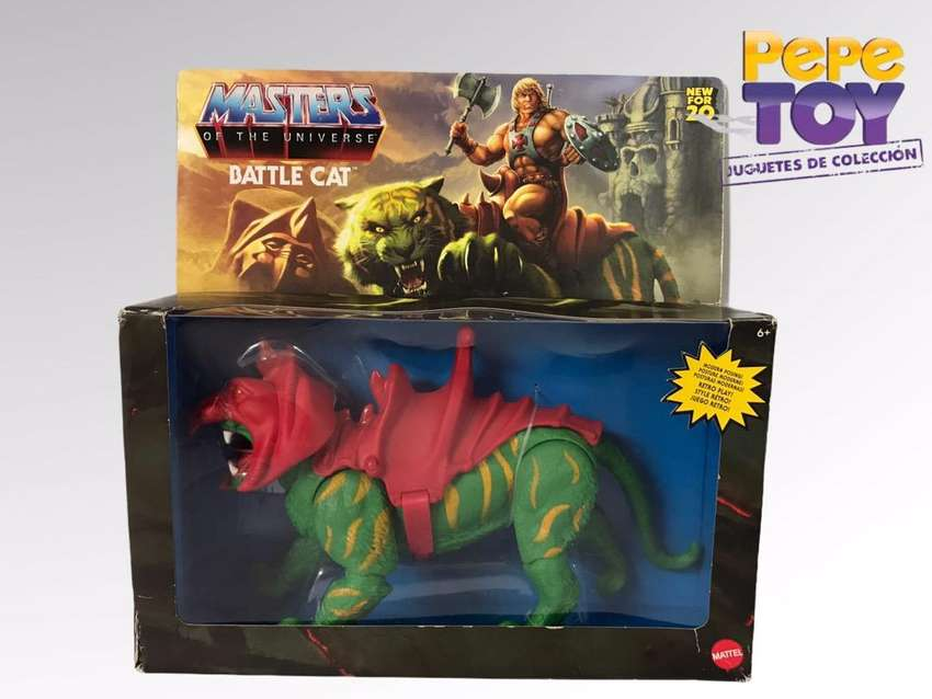 Masters of the Universe Battle Cat Origins 0