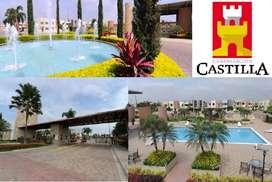 VENTA DE UNA CASA via Samborondon  Urbaniz.Castilla.