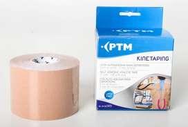 Cinta PTM Taping Vendaje Neuromuscular 5 Cm X 5mt Adhesiva