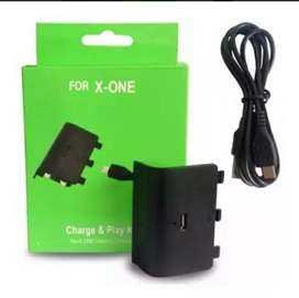 Batería para xbox one recargable Charge and play kit