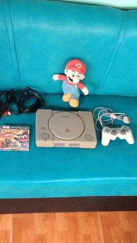 PlayStation 1 Fat con 4 juegos