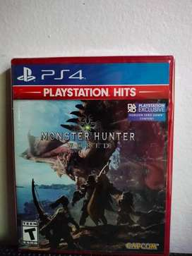 Monster Hunter Wrold Estándard Edition, PS4