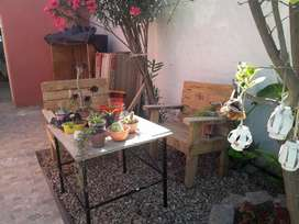 Jardín dos silloncitos