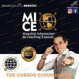 Curso Maestría Internacional de coaching expansivo VIDA EPICA de Mauricio Benoist   CURSO COMPLETO