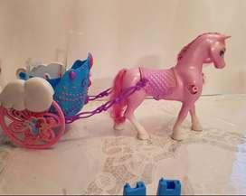 Barbie Mariposa, Pegaso y carro volador