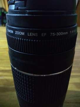 Nuevo Lente Canon 75-300mm