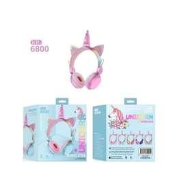 Diadema de audífonos para niña