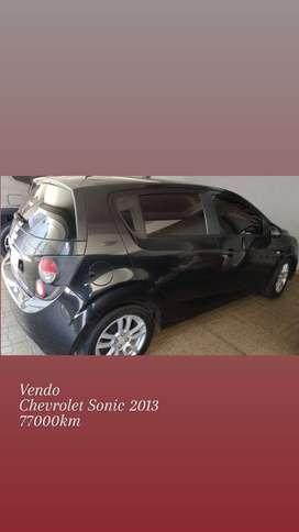 Vendo Chevrolet Sonic LT 1.6