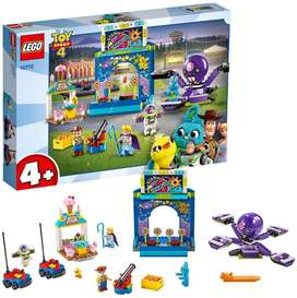 LEGO 10770 4 Toy Story 4 Buzz and Woody's Carnival Mania Lightyear Woody Minifigures Ref:VS-US0035418