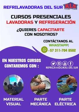 """Cursos de Lavadoras y Refrigeración """"REFRILAVADORAS DEL SUR JAMUNDI"""" CUPOS LIMITADOS"""