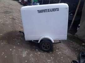 Vendo trailer transporte de alimentos
