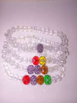 Pulseras cristal murano