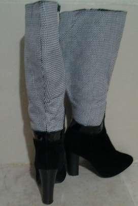 Botas de Gamuza Alta para Dama