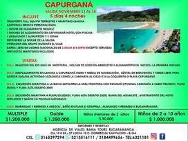TOUR A CAPURGANA SALIDA 11 NOVIEMBRE