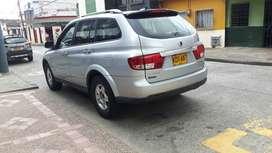 SE VENDE CAMIONETA SSANGYONG KYRON 2011, 4X2, 2.3cc gasolina