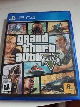 Gta v PS4 impecable