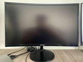 Monitor Samsung De 24 Pulgadas Curvo - Ref: C24F390