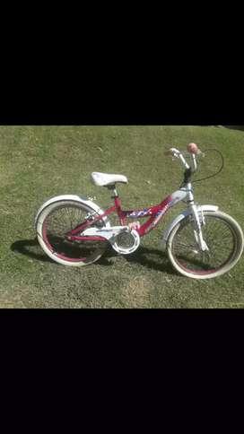 Vendo bici niña rodado 20