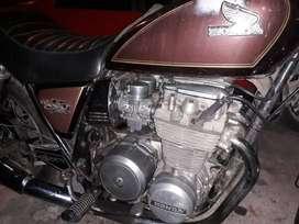 Moto Honda cb 650 custom